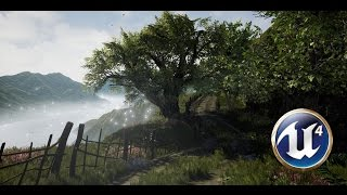 Speed Level Design  Mountain Road  Unreal Engine 4