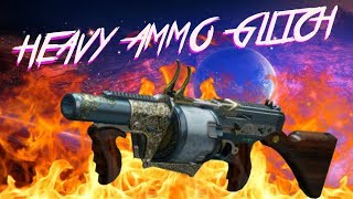 DESTINY 2 - GAME BREAKING HEAVY AMMO EXPLOIT - HOW TO REFILL POWER AMMO INSTANTLY  GUIDE