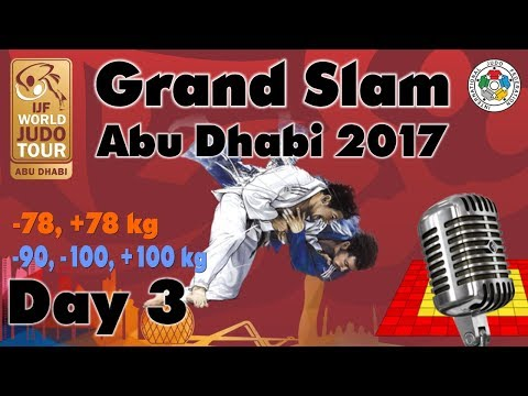 Judo Grand-Slam Abu Dhabi 2017: Day 3