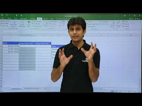 MS Excel - Data Validation