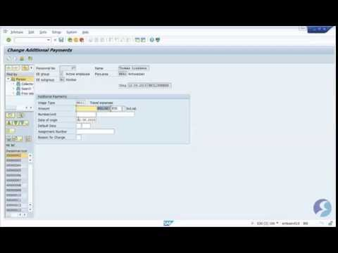 Emeritis demo: Concur interface with SAP HCM - YouTube