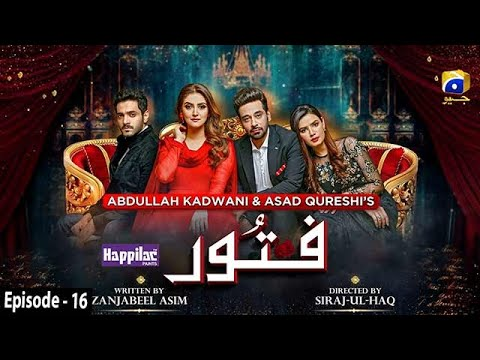 Download Fitoor - Ep 16 [Eng Sub] - Digitally Presented by Happilac Paints - 8th April 2021 - HAR PAL GEO