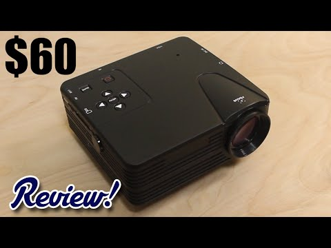 Is This Cheap $60 Chinese Projector Worth It?