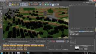 """""""The Preperations!""""    Minecraft 3D Speed Modeling   Cinema 4D"""