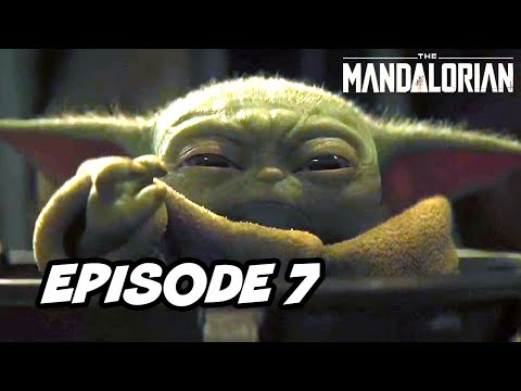Star Wars The Mandalorian Episode 7 - TOP 10 WTF And Easter Eggs
