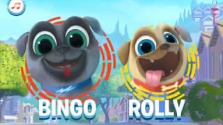 Мультик игра Дружные мопсы: Собрать корм (Puppy Dog Pals)