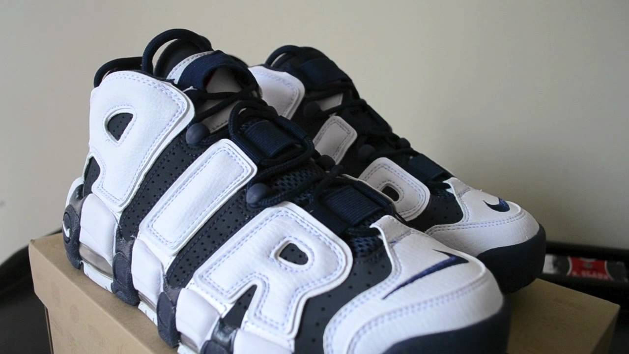 Nike Retro Air More Uptempo Pippen Olympic 2012 Retro Nike Pickup Review + On bc4438