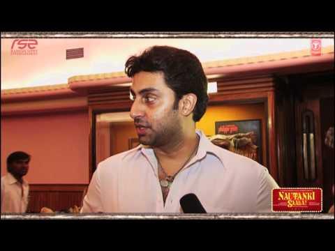 The Nautanki Saala Tales - Abhishek Bachchan   Ayushmann Khurrana, Rohan Sippy
