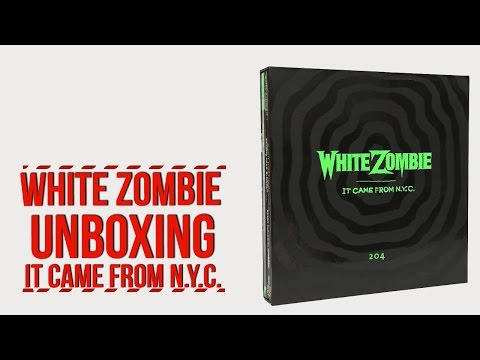 White Zombie 'It Came From NYC' Unboxing With Narration