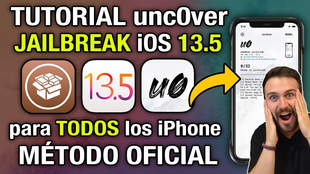 TUTORIAL ✅ Jailbreak unc0ver OFICIAL iOS 13.5 para TODOS los iPhone