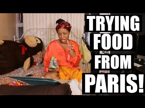 Canadian Tries Food From PARIS   Trying French Treats   HEYPARIS