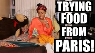 Canadian Tries Food From PARIS | Trying French Treats | HEYPARIS
