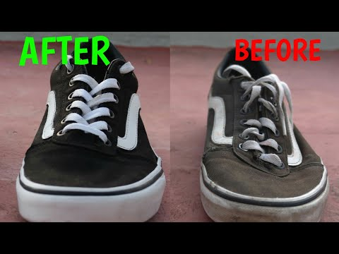 Vans Old Skool RESTORATION | RESTAURACIÓN Vans Old Skool | How to Clean Vans Old Skool