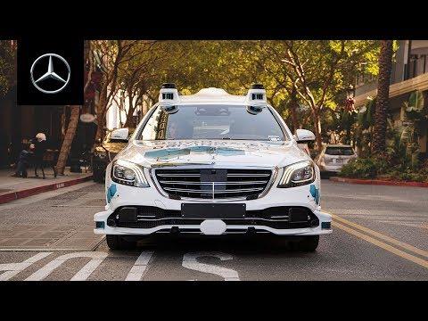 Mercedes-Benz Pilotprojekt   Automatisierter Mitfahrservice