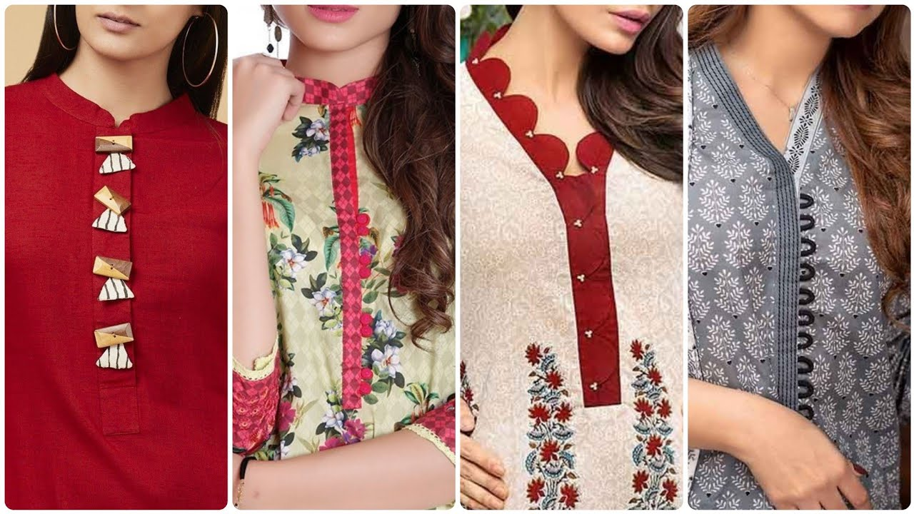 40 Very Creative New Neck Designs/Dress Stitching Style & Idea's