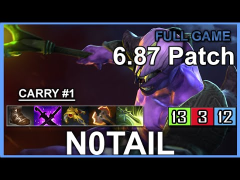 Notail Faceless Void Carry 687 Full Game