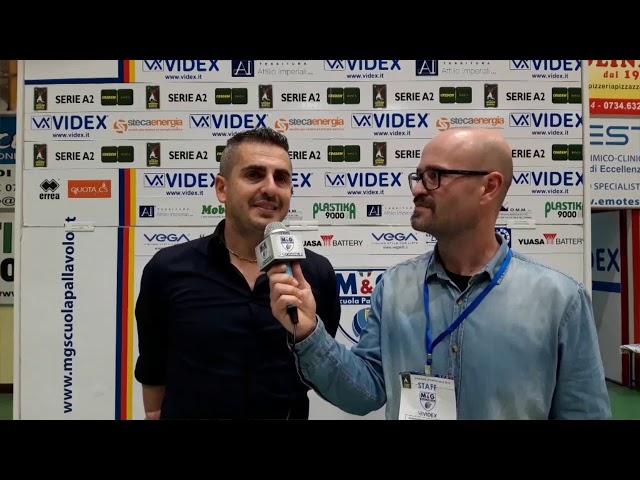 M&G Videx - Elios Messaggerie Catania 3-1: il parere di Ortenzi