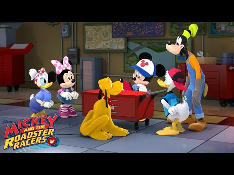 Mickey's Garage 🚗 | Music Video | Mickey and the Roadster Racers | Disney Junior from YouTube · Duration:  1 minutes 56 seconds