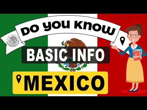 Do You Know Mexico Basic Information | World Countries Information #114- General Knowledge & Quizzes