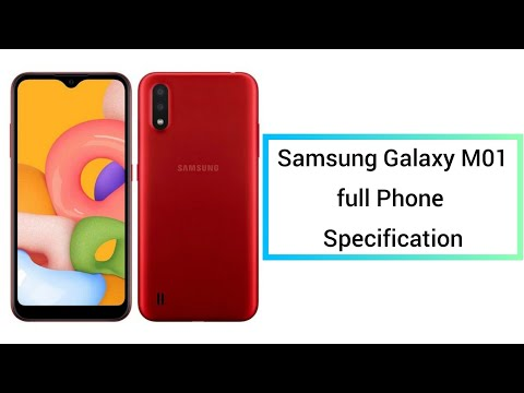 Samsung Galaxy M01 - Full Phone Specification    Tech Review Riadz