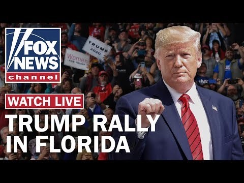 Trump holds a 'homecoming' campaign rally in Florida