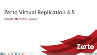 What s new in Zerto Virtual Replication 4 5