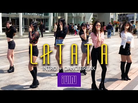 [KPOP DANCE IN PUBLIC] (G)I-DLE (여자)아이들 - 'LATATA' Dance Cover By Panwiberry Intro+Dance Break