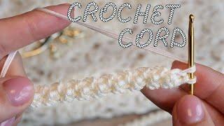 Объёмный шнур крючком 🧶 Crochet volume cord