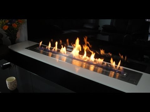 AFIRE Bio Ethanol Burner Inserts, the Art of Contemporary Ventless Fireplaces