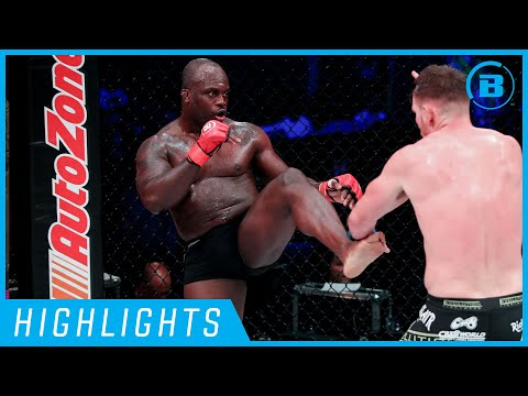 Highlights | Melvin Manhoef - #Bellator230