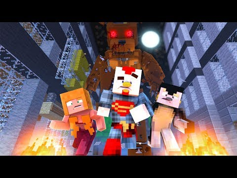 Minecraft | EVIL GIANT FREDDY.EXE! (Five Nights at Freddy's 6 Challenge)