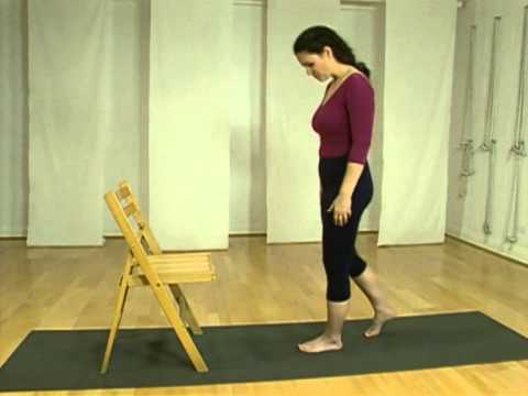 breathing exercises asana practice and chair work  youtube