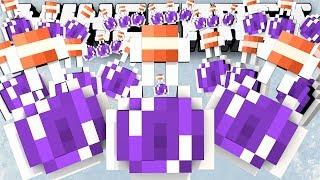 Minecraft: POTION MADNESS! - (Sky Island PVP) - w/Preston & Friends!