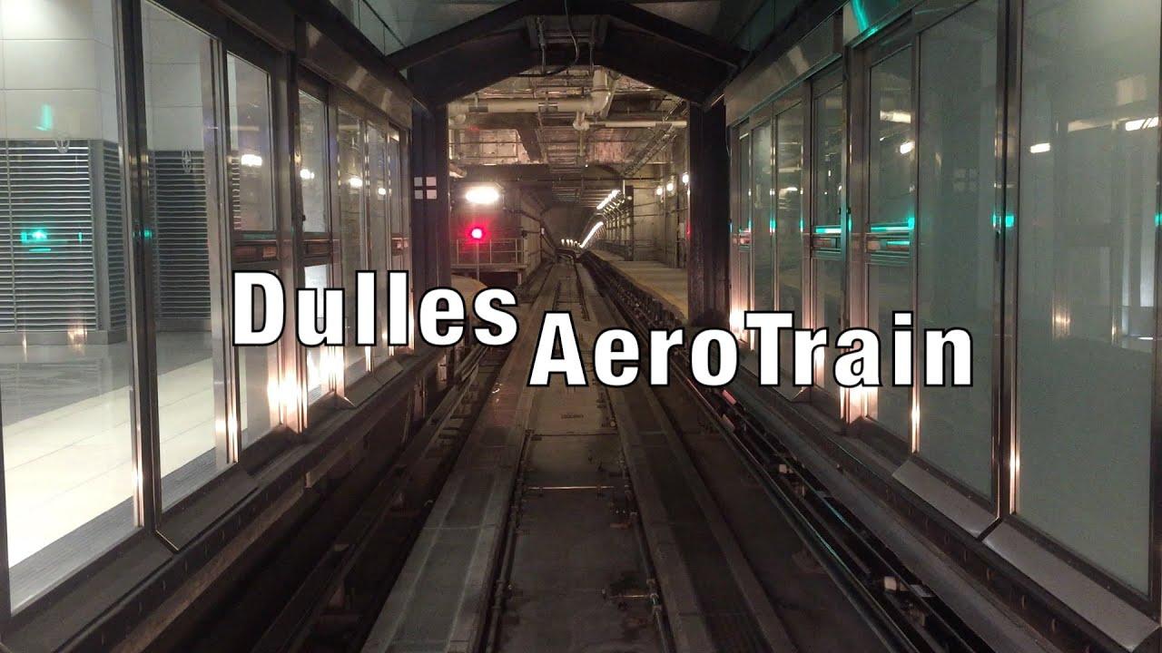 AeroTrain at Washington Dulles International Airport (IAD ...