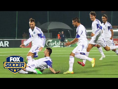 San Marino are really excited about their first away goal in 14 years
