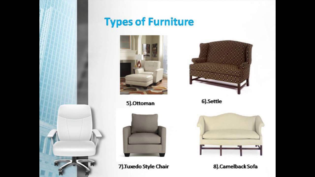 Types of Stylish Furniture- Leon Furniture Store - YouTube