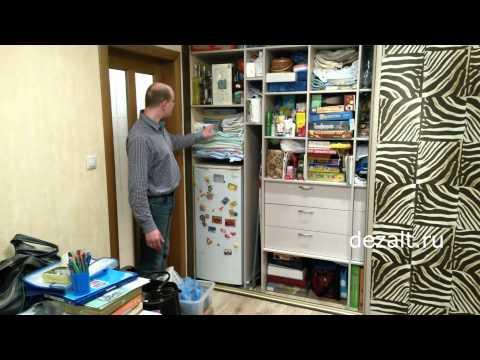 Шкаф-купе 4 двери в спальню