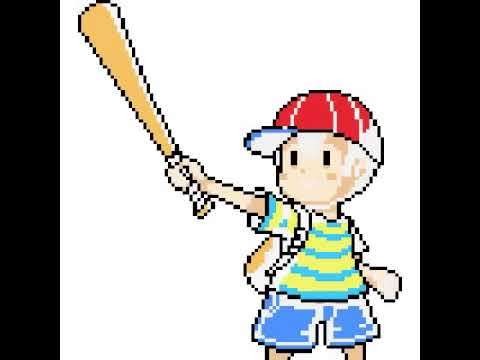 Ness Earthbound Pixel
