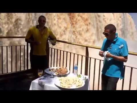 Iguassu Falls exclusive Captains Choice lunch, Brazil