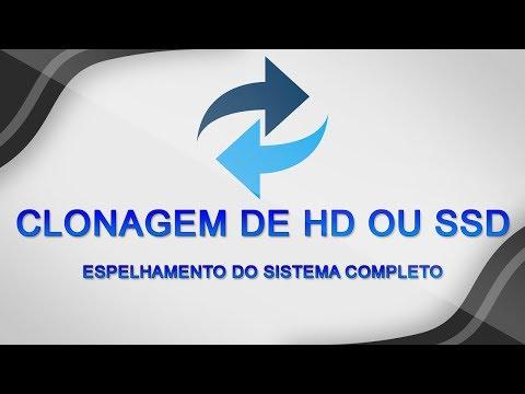 Como CLONAR um HD ou SDD para OUTRO - Espelhamento de Sistema Operacional