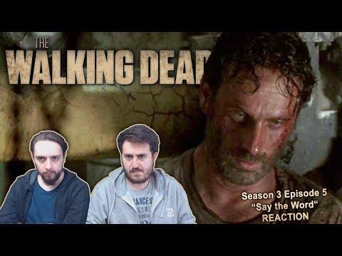 The Walking Dead Season 3 Episode 5 Reaction