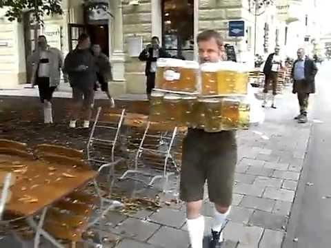 прикол уронил пиво