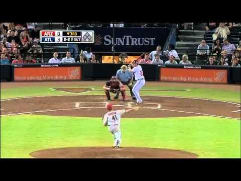2011/08/19 8/19/11 CG: ARI@ATL