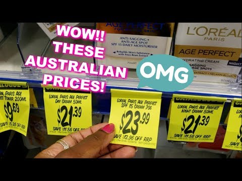 DRUGSTORE MAKEUP SHOPPING IN AUSTRALIAN DRUGSTORES | WOW THESE PRICES | Chemist Warehouse Makeup