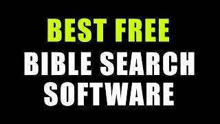 BEST Bible Study Software EVER! FREE!! screenshot 1