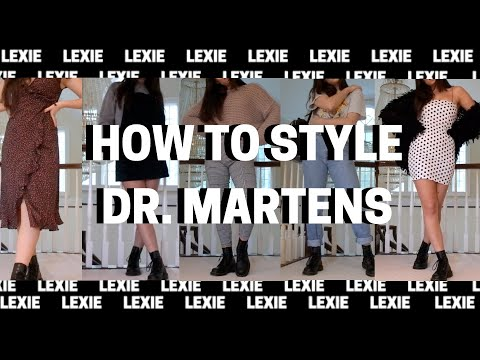 HOW TO STYLE DR. MARTENS