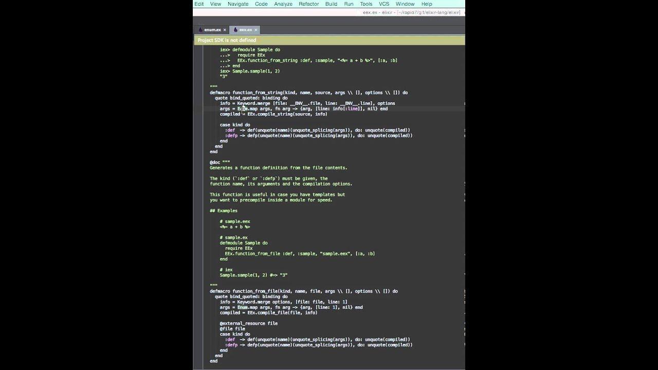 Go To Module Declaration in IntelliJ Elixir (v1.2.0) - YouTube