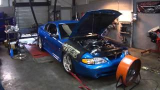 1998 Mustang Cobra Dyno - Vortech V2 S-Trim 6lb pulley