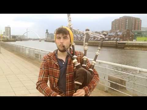 John Legend - All of me (Bagpipe Cover)