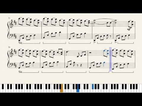 The waves Ludovico Einaudi - plan Tutorial (sheet music, video)